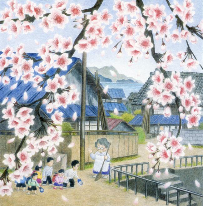 サムネイル:安藤勇寿「少年の日」美術館